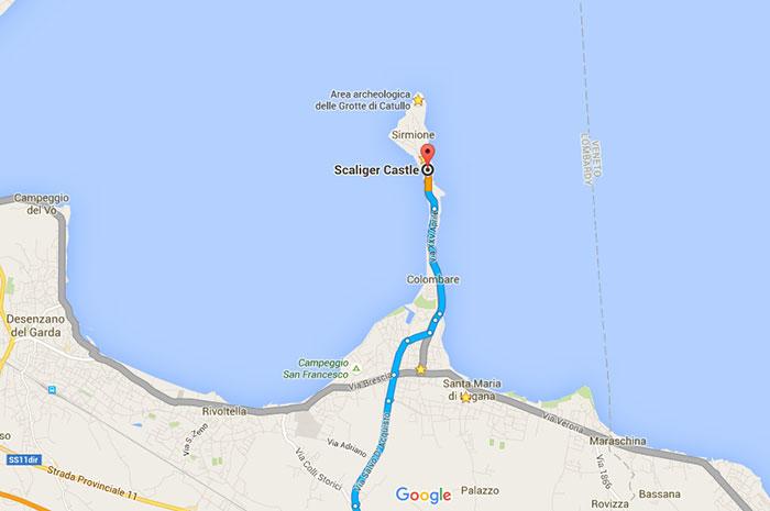Como chegar Lago di Garda