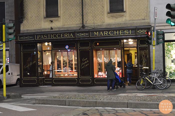 Dicas de Milão: Pasticceria Marchesi