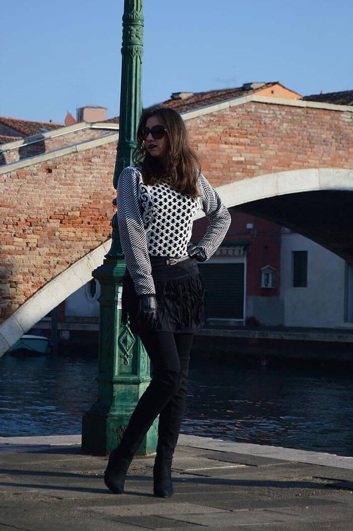 Inverno 2016 - Manu Luize look em Veneza