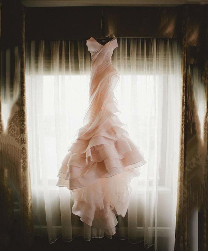 Rosa Quartzo: Vestido de noiva