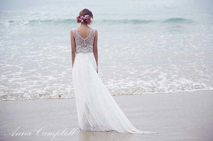 Casamento na praia: vestidos de noiva
