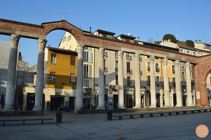 Colonne di San Lorenzo - Milão