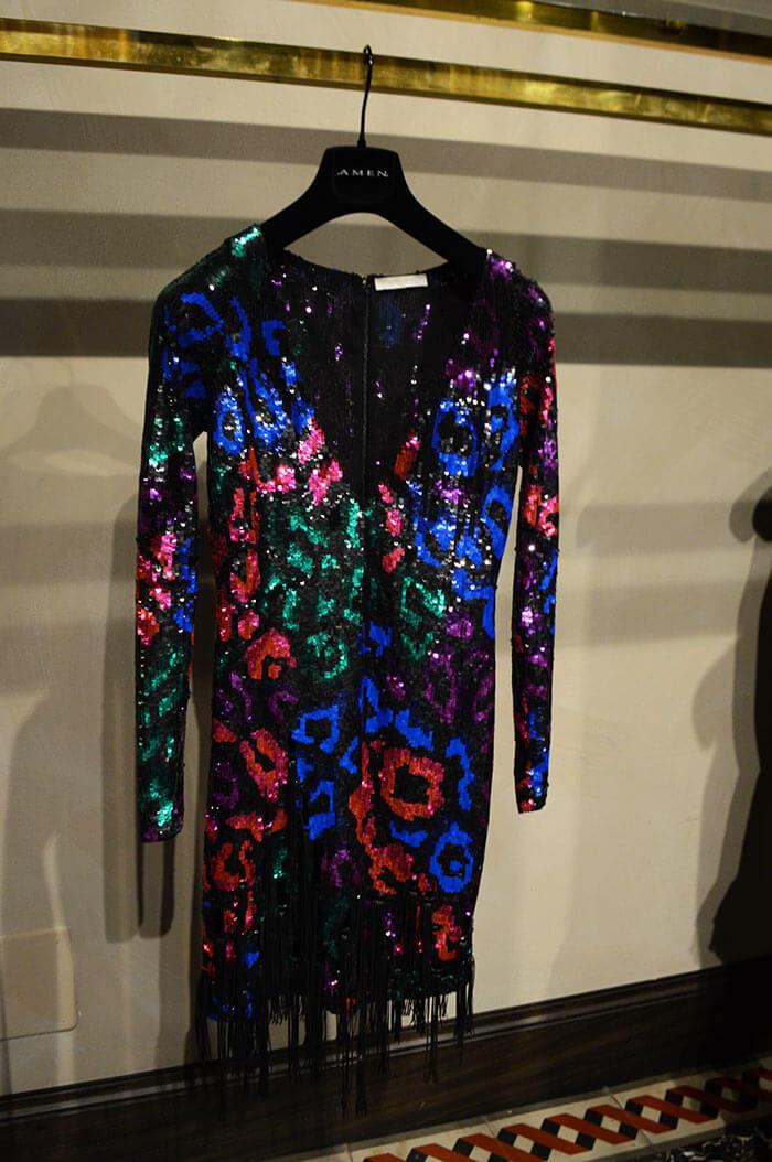 Vestido de paetês - Amen Couture