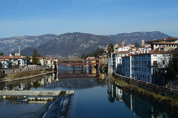 Bassano del Grappa na Itália