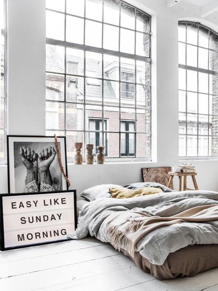 Decoração de quarto de casal comfy