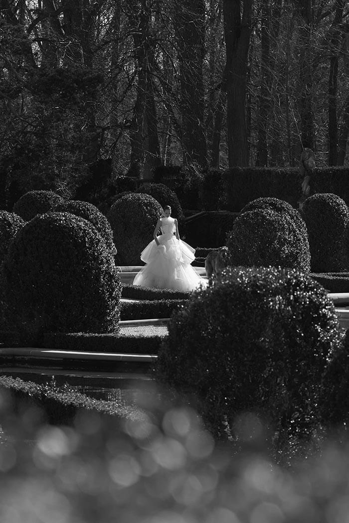 Vestido de noiva com volume