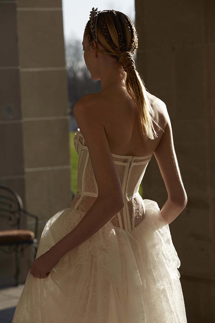 Vestido de noiva com corpete