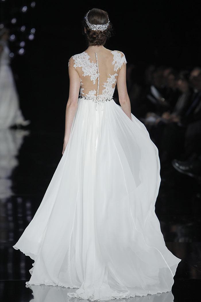 Vestido de noiva princesa - costas