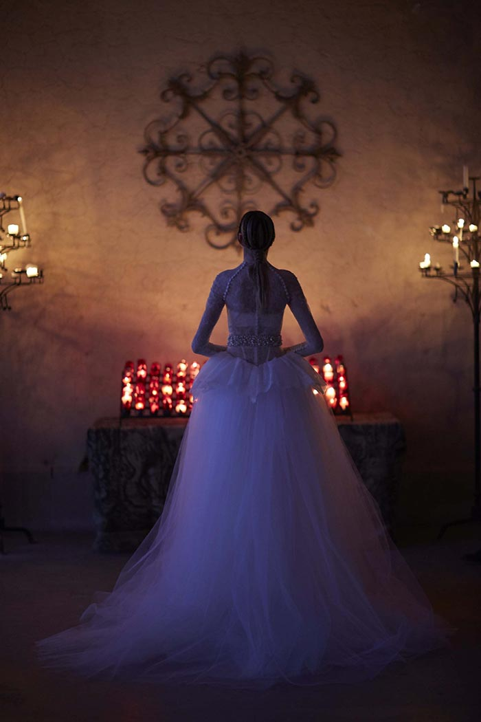 Vestido de noiva com renda - Vera Wang