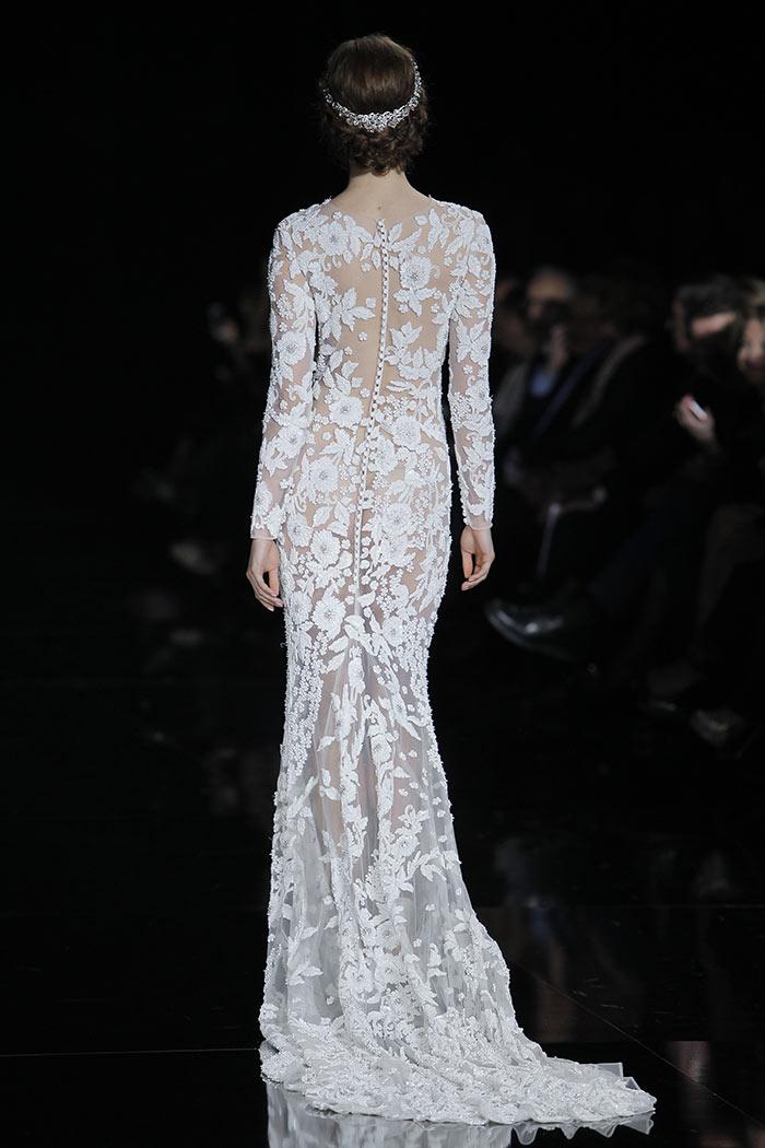 Vestidos de noiva - Renda - Costas
