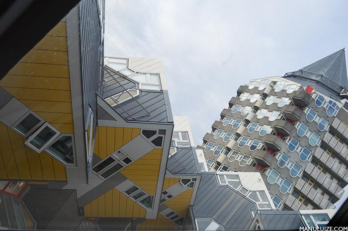 Arquitetura moderna em Roterdã