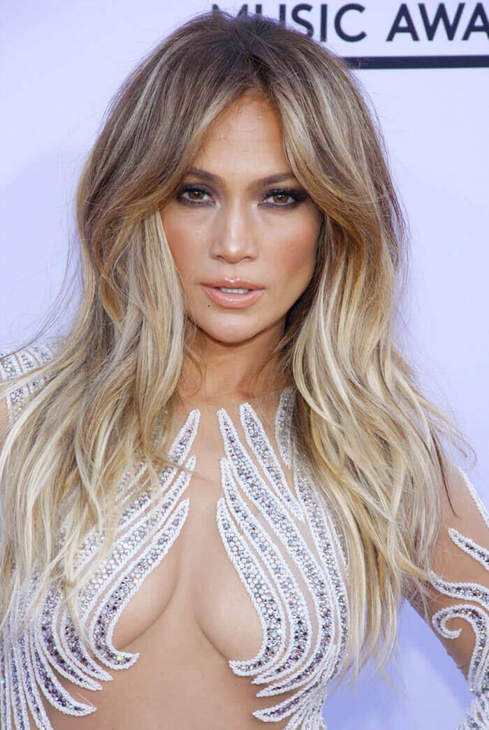 Cortes de cabelo longo - Jennifer Lopez