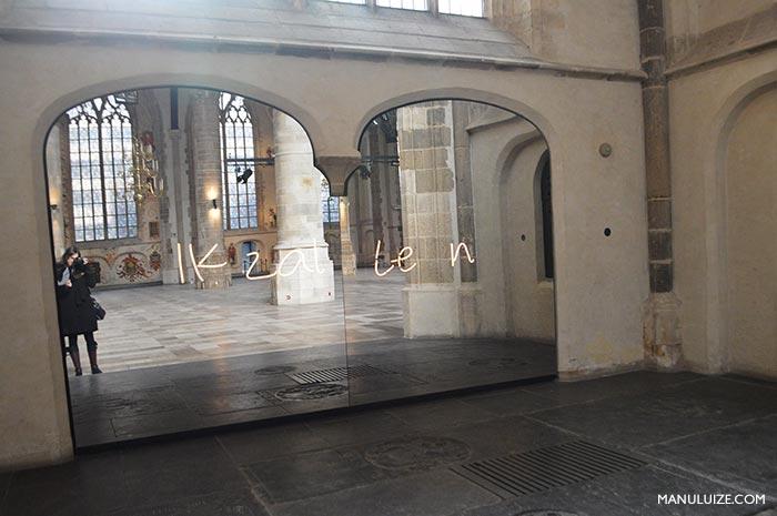 Igreja Medieval em Roterdã