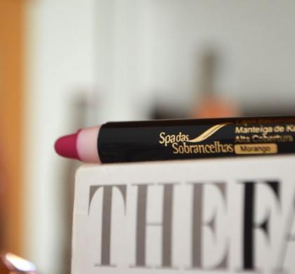 Lápis Batom do Spa das Sobrancelhas: Resenha