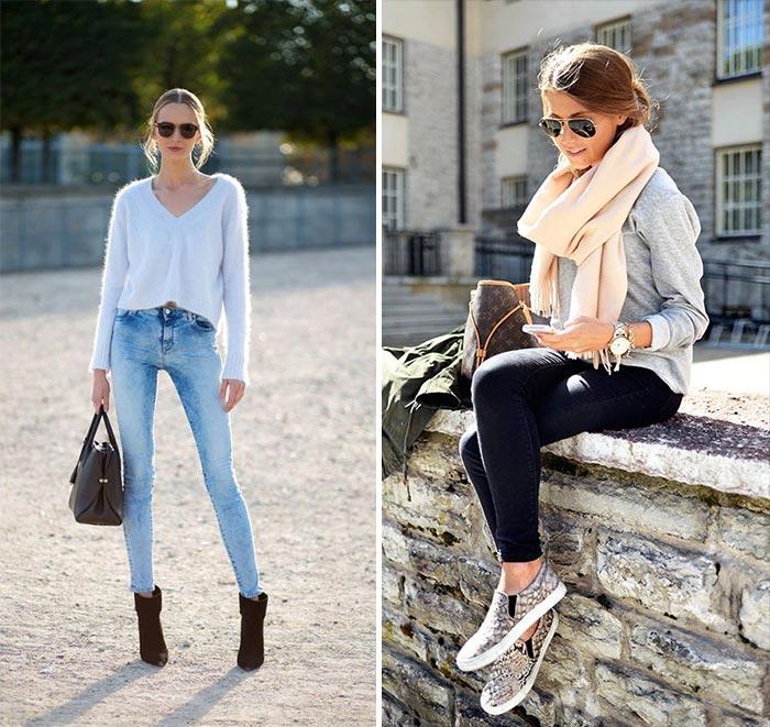 Looks da moda: básicos para o dia
