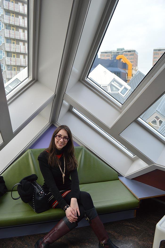 Manu Luize - Casas Cubo em Roterdã