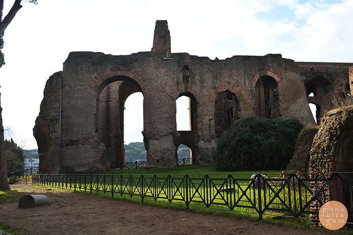 Palatino em Roma (Palatine Hill)