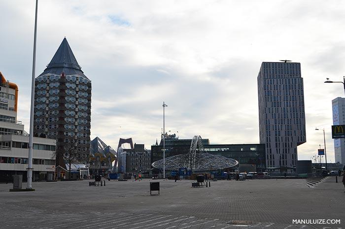 Roterdã na Holanda do sul - Países Baixos