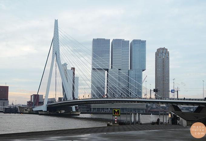 Rotterdam em um dia (Holanda/Países Baixos)