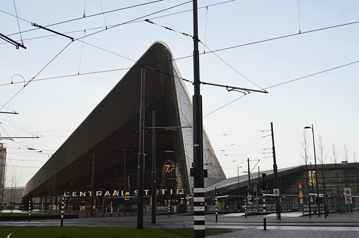 Rotterdam: Estação de Trem