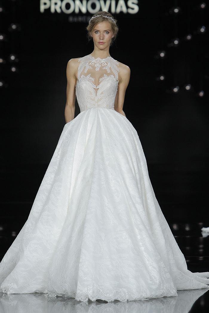 Vestido de noiva elegante