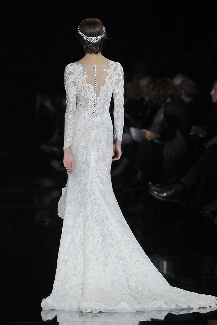 Vestido de noiva manga longa