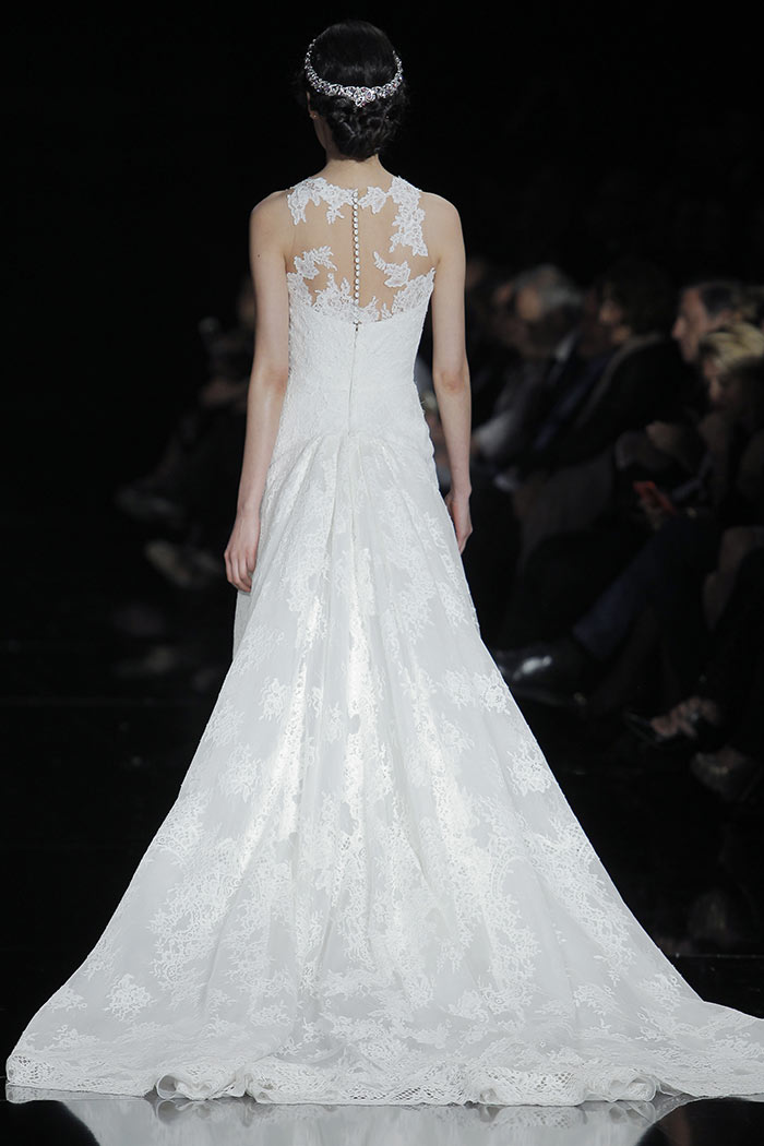 Vestidos de noiva delicados