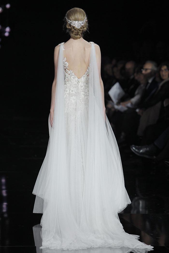 Vestido de noiva delicado