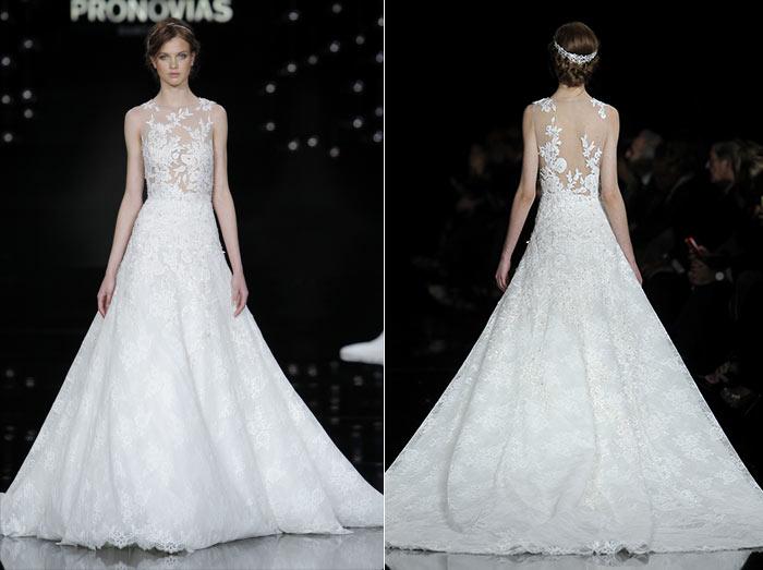 Vestidos de noiva com saia princesa