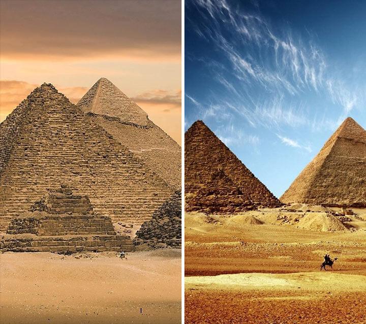 Pirâmides no Egito