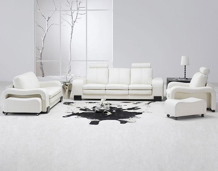 Salas com minimalismo na decoração