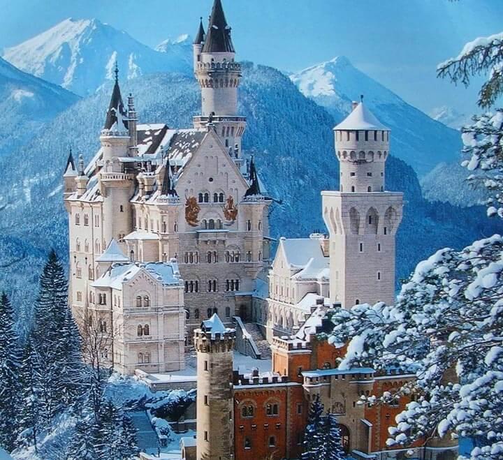Neuschwanstein Castle na Alemanha