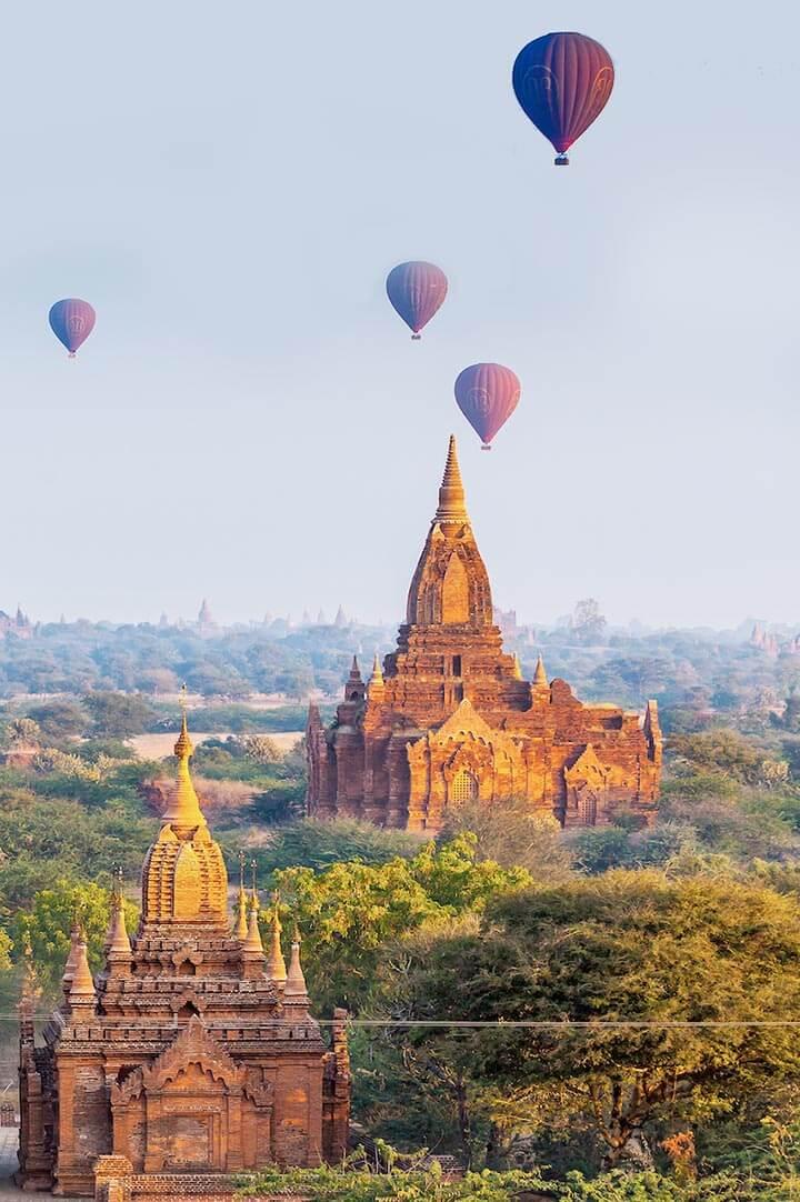 Bagan em Myanmar