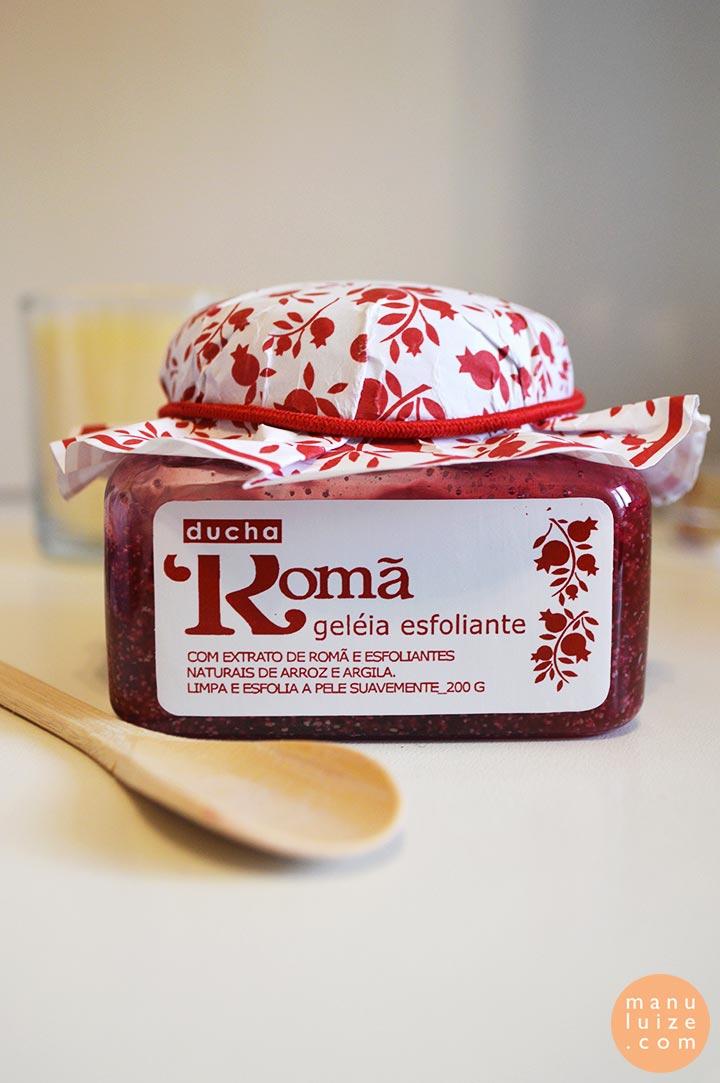 Esfoliante corporal de romã