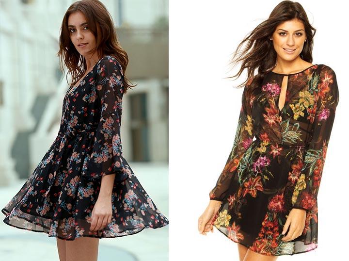 Fotos de vestido floral
