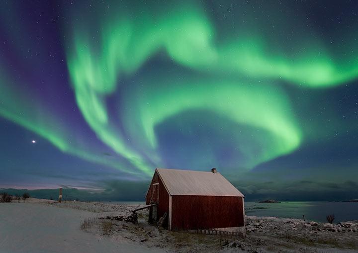 Lugares para viajar: Aurora Boreal