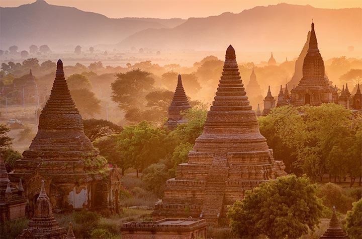 Lugares para viajar: Bagan
