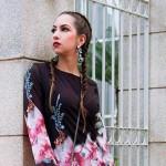 Vestido floral – Look do dia