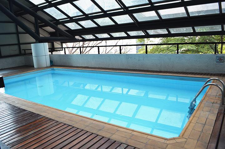 Hotel com piscina em São Paulo