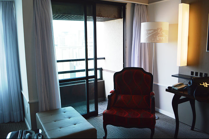 Quarto no hotel Blue Tree Premium Paulista