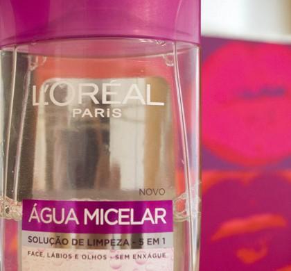 Água Micelar L'Oréal: Resenha