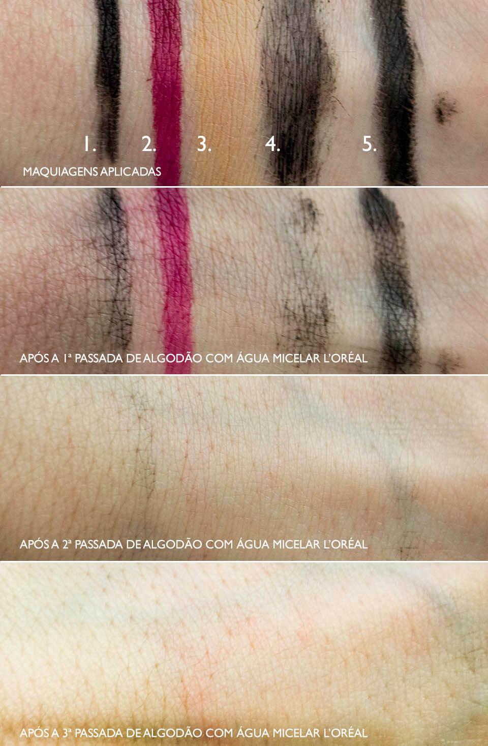 Teste: Removendo maquiagem com a Água Micelar L'Oréal