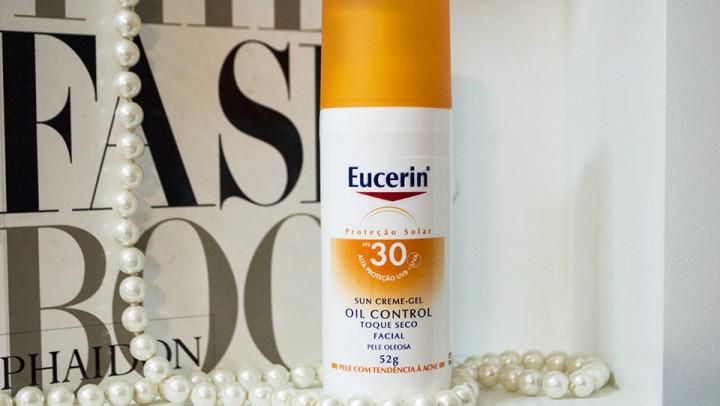 Protetor Solar Eucerin: Sun Creme-Gel Oil Control FPS 30