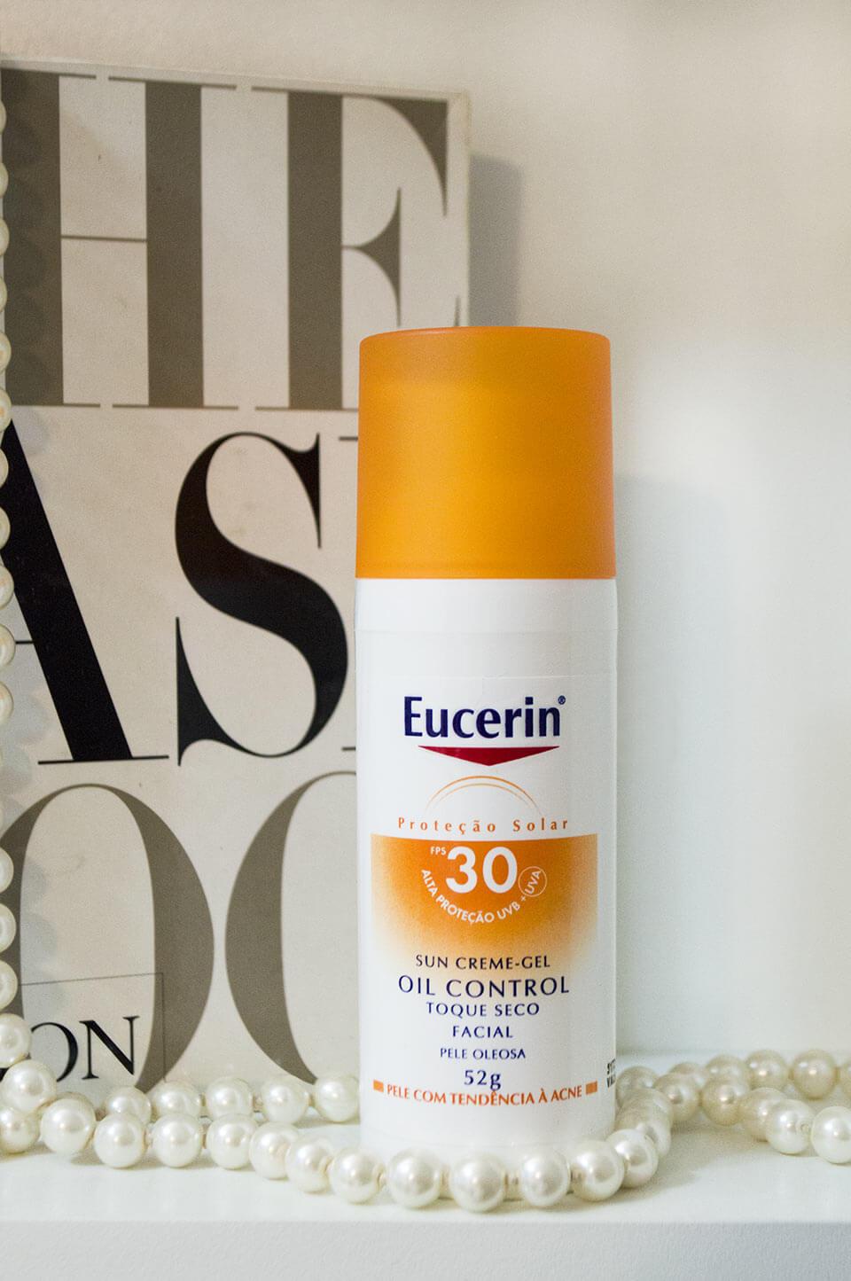 Protetor Solar Eucerin: Sun Creme-Gel Oil Control