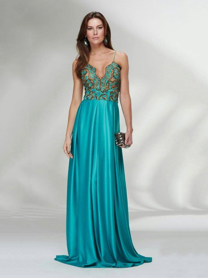 Vestidos de madrinha de casamento azul tiffany