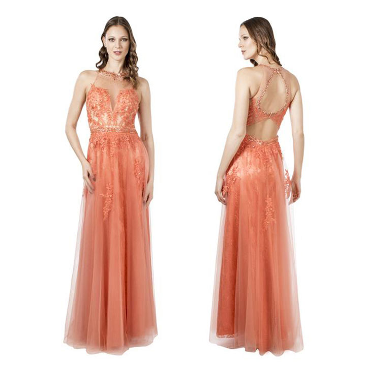 Vestidos de madrinha coral