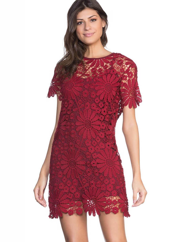 Vestidos de verão vermelho