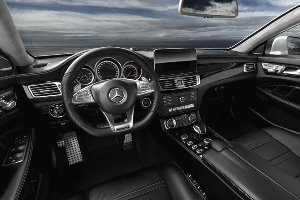 Mercedes AMG CLS63 S Interior