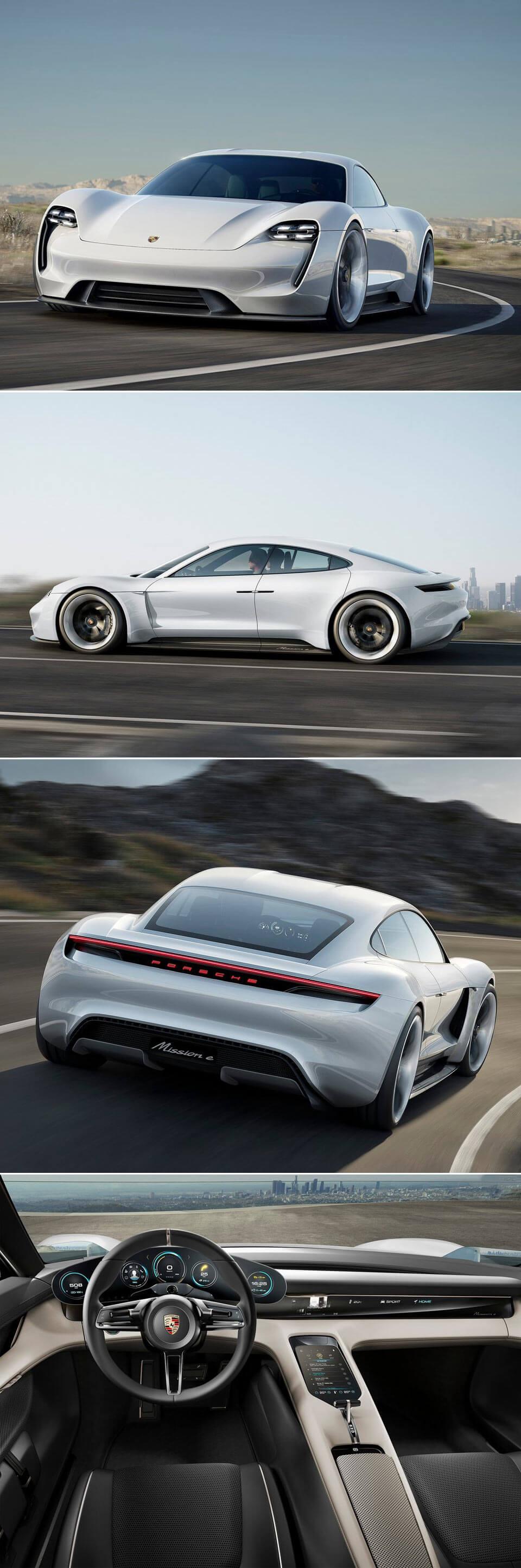 Fotos de carros: Porsche Mission E Concept