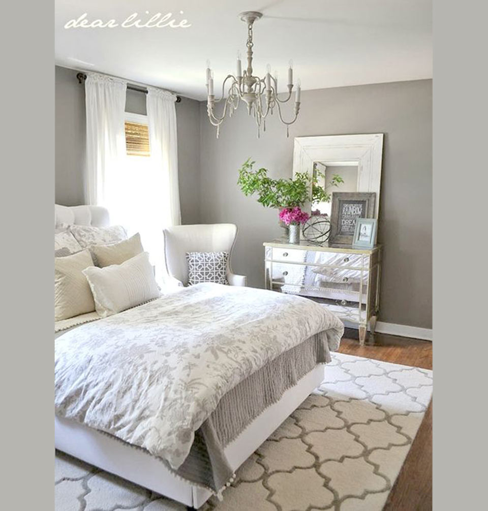 Quartos decorados 35 fotos apaixonantes manu luize for How to make small room beautiful